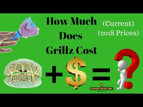 How Much Do Gold Grillz Cost (New 2018)