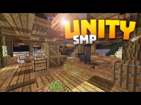 Minecraft Realms! - Unity SMP S2 Ep. 7 - THE BAY DECOR AND STUFFS!