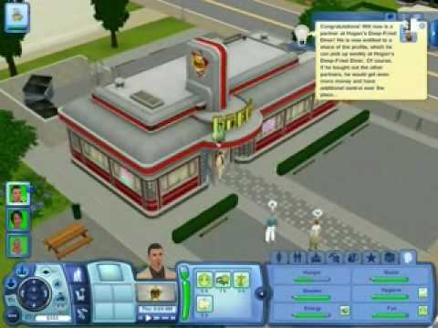 The Sims 3 - How To Get A Partnership