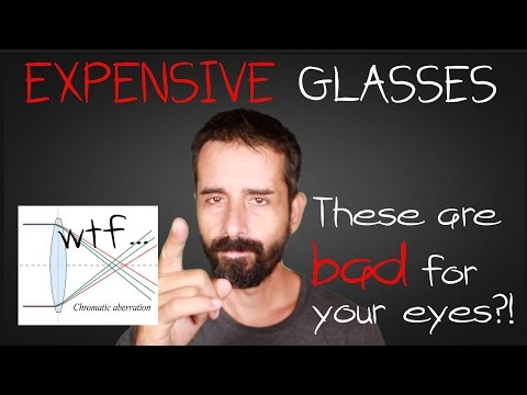 Jake Steiner: CRAP-O-VISION - Polycarbonate Lenses | Abbe Value 30?! - YIKES