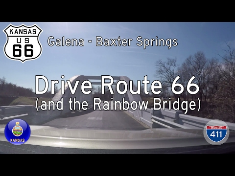 Historic Route 66 - Galena - Baxter Springs - Kansas | Drive America's Highways 🚙