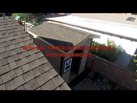 INSTALLING ROOFING SHINGLES - GAF TIMBERLINE