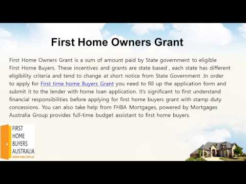 Need help For First Home Owners Grant