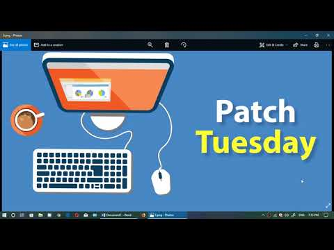 Roundup of Patch Tuesday Security updates for Windows April 10th 2018