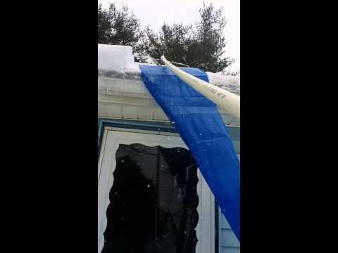 DIY roof rake
