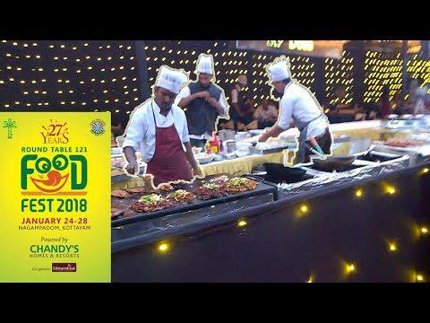 Glimpse of Food Fiesta 2018 at Kottayam