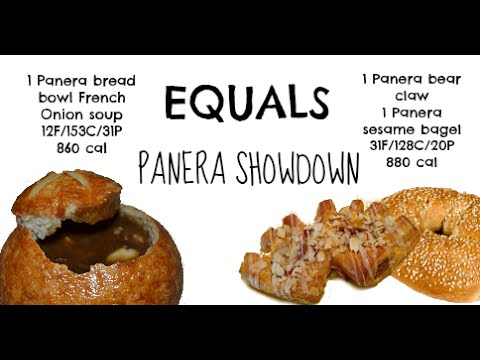 equals & alternatives Episode 44: Panera French Onion Soup and Panera Bear Claw and Sesame Bagel
