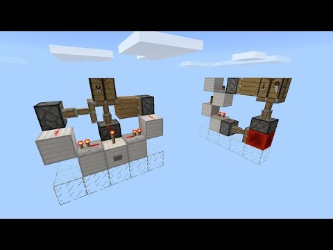 How To Build A Hidden Crafting Table [Minecraft Pocket Edition]