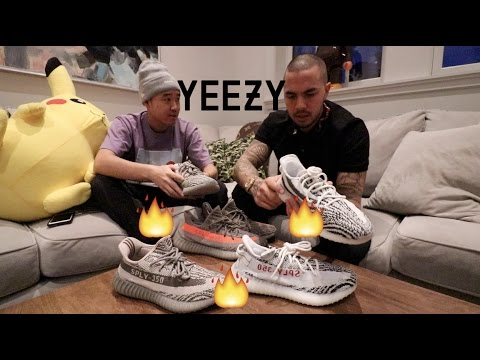 UNRELEASED YEEZY REVIEW & COMPARISON + GIVEAWAY