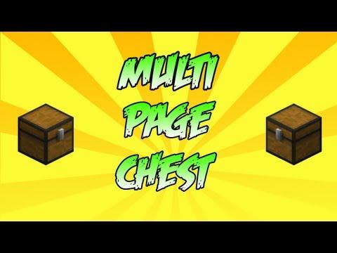 Multi Page Chest [1.6.2]- Minecraft MODS