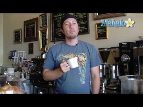 How to make an espresso
