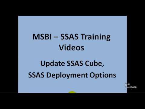 MSBI - SSAS - Update SSAS Cube, SSAS Deployment Options