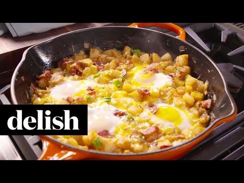 Loaded Breakfast Skillet | Delish