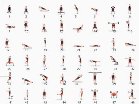 Total workouts in single video