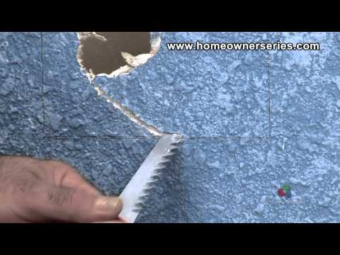 How to Fix Drywall - Drywall Saw - Tools - Drywall Repair