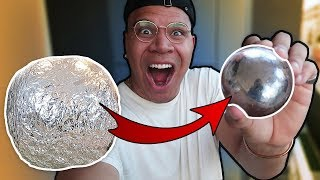 MIRROR-POLISHED JAPANESE FOIL BALL CHALLENGE (VERY SATISFYING)