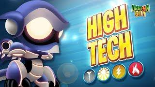 The High Tech Dragon!! Heroic Race: Galaxy - Dragon City