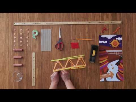 Summer Brain Games 2016: Straw Bridges