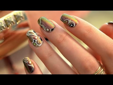 Easy Nail art create your design