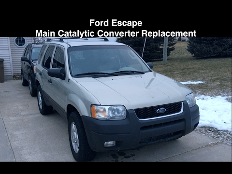 Ford Escape No Power - Catalytic Converter Replacement - FIXED
