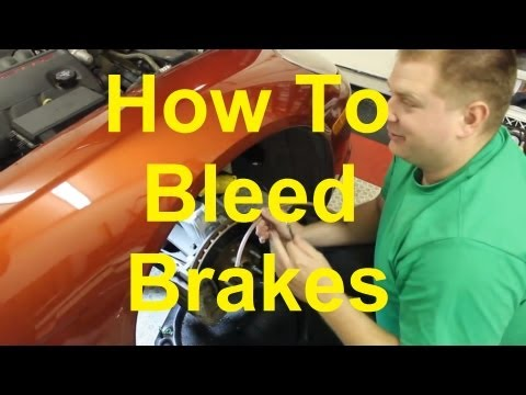 How To Bleed The Brakes On Your Car Or Truck