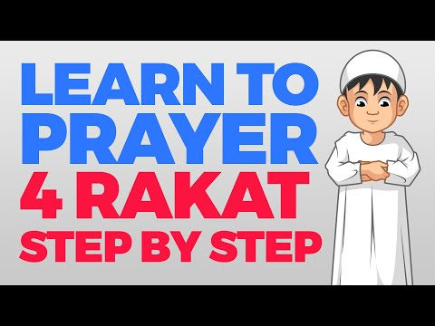 How to pray 4 Rakat (units) - Step by Step Guide | From Time to Pray with Zaky