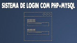 Como criar Sistema de Login com PHP e MySQL