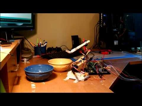 Robotic shovel made with Arduino