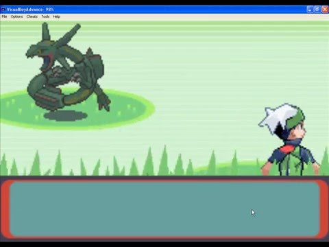 Pokemon emerald - Catching Celebi, Unknown and Rayquaza !!