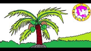 Cara Menggambar Pohon Cabai