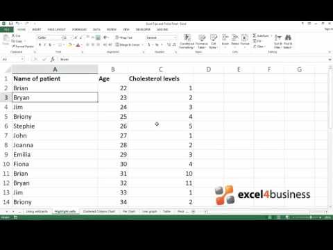 How to Highlight Important Data in Excel 2013