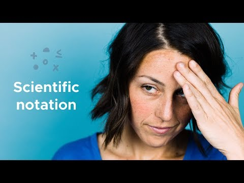 Scientific notation - How to do it?