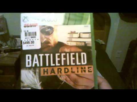 Unboxin de tarjeta de xbox live gold y juego battlefield hardline
