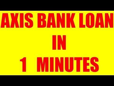 Axis bank personal loan | Axis bank personal loan eligibility details | Axis bank