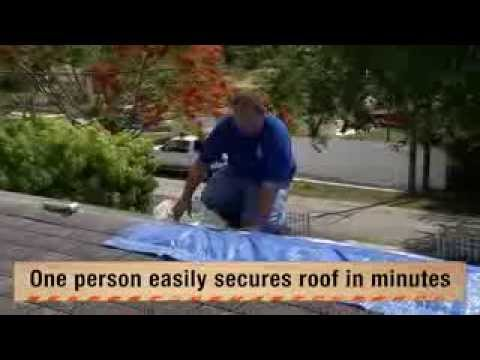 UTARPit Self-Adhesive Roofing Tarp for Pros - The Home Depot