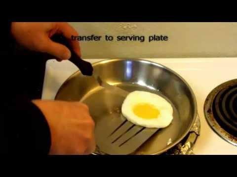 How to cook Fried Egg;  Perfect Round;  every time , all the time.