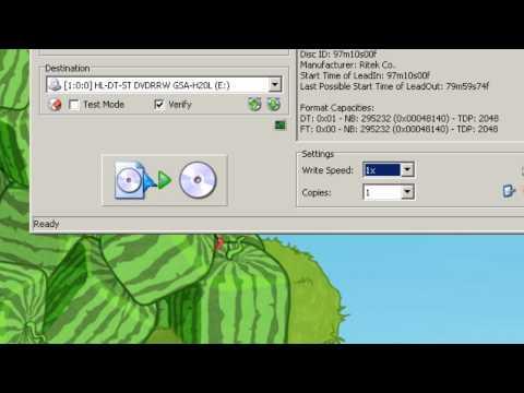 Burn Ubuntu 10.04 LTS ISO Live CD image ImgBurn CD burning freeware.