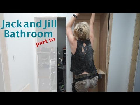 Jack and Jill Bathroom -  part 10