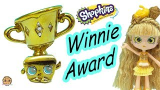 Limited Edition Winnie Award Gold & Diamonds Shopkins - Cookie Swirl C