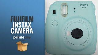 Fujifilm Instax Mini 8 Instant Film Camera: Fujifilm Instax Mini 9 Instant Camera (Ice Blue)