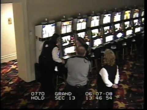 Surveillance video: David Allan Coe cuffed at casino