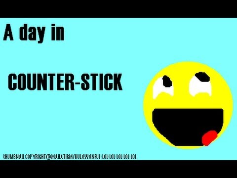 A day Playing counter stick