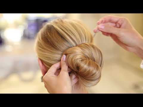 Updo Hairstyle Using Ladore Hair Seamless Clip-In Hair Extensions