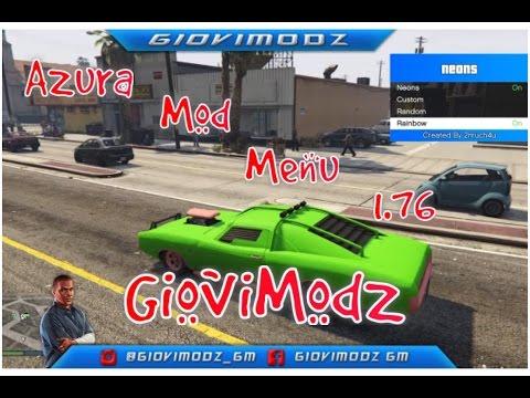 GTA 5 OFFLINE: Azura Mod Menu PS4 1 76 FREE - PlayTunez