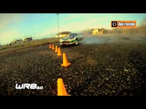 HPI WR8 1/8th scale Nitro Rally Car
