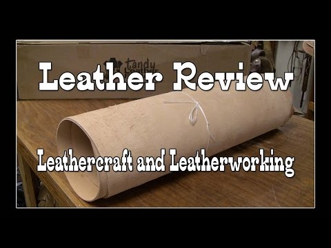 Tandy Leather Review - Leather Crafting - Leatherworking for Beginners