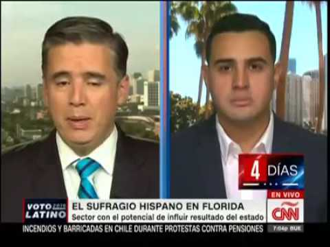 Wadi Gaitain from The LIBRE Initiatve is on CNN  Español