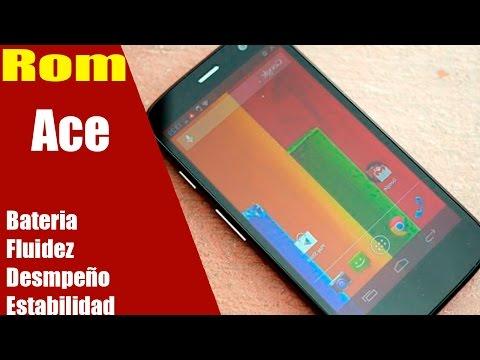 Rom Ace  Moto G | La Rom Kitkat | Fluidez,Bateria,Despeño