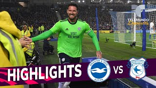 Download Brighton vs. Cardiff City: 0-2 Goals & Highlights | Premier League | Telemundo Deportes Video