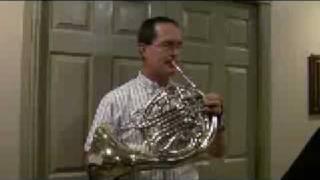 Le Basque French Horn Solo Steve Park Horn